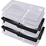 Paint Roller Tray Plastic Paint Trays Liner (4pack) for Household