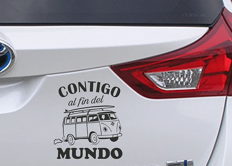 Adhesivo 'furgoneta' Diseño exclusivo protegido por © desde 2001.