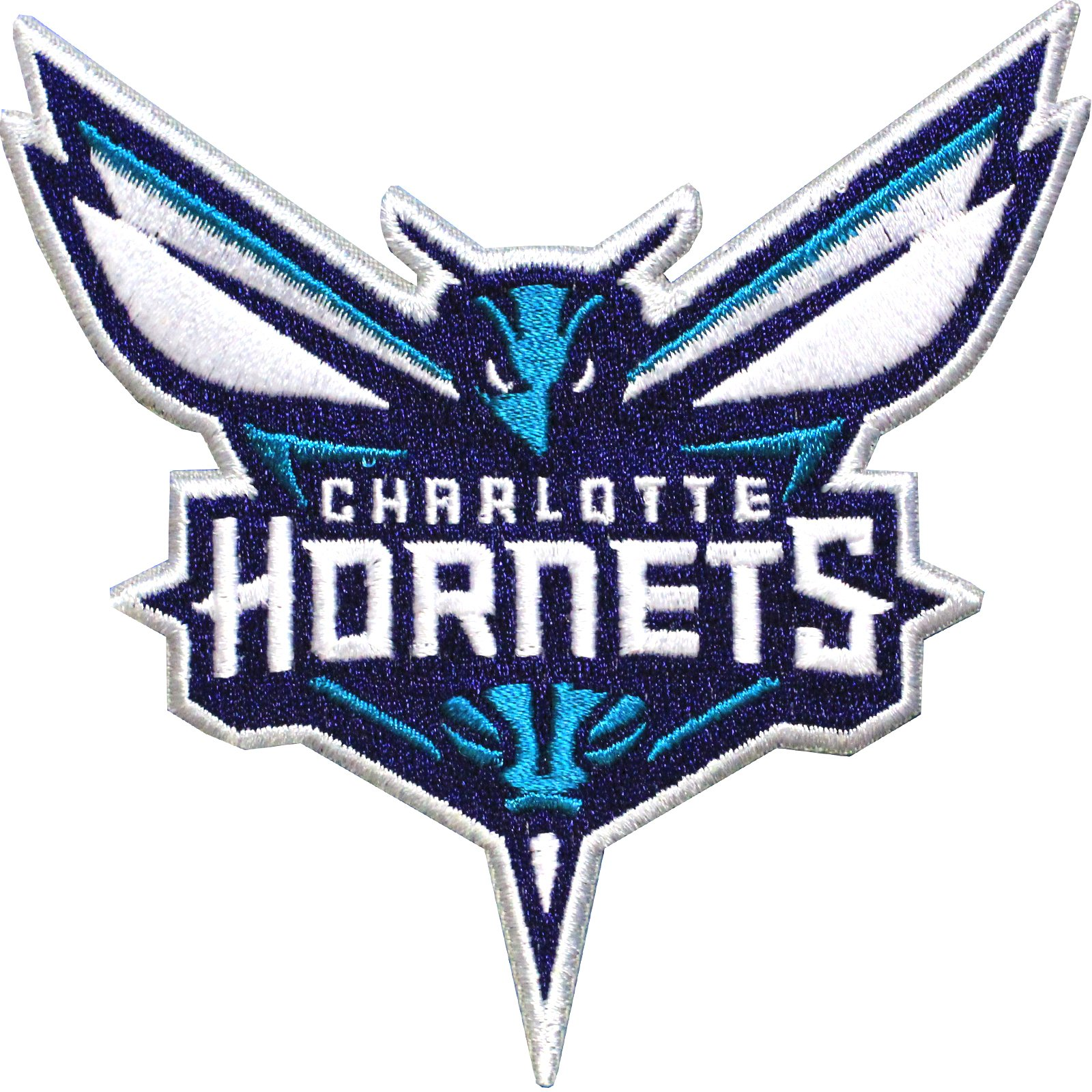 Official Charlotte Hornets Logo Large Sticker Iron On NBA Basketball Patch Emblem
