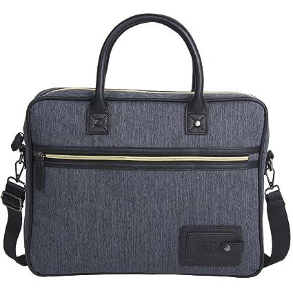 Porte-documents pour Hommes Unives Véritable Cuir Sac à Bandoulière Messenger Bag Business Sac pour Ordinateur Portable eTQg1
