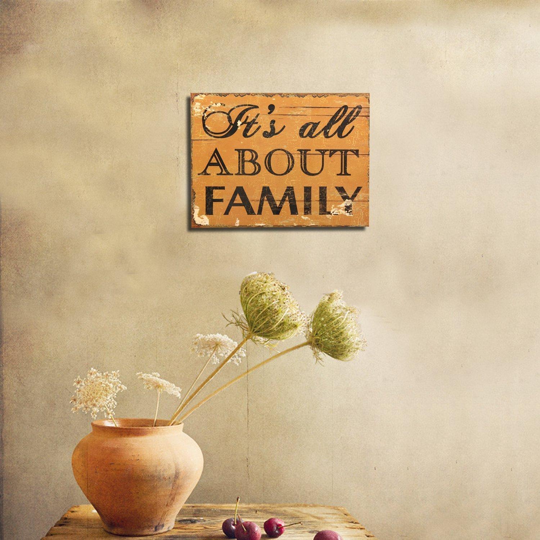 Amazon.com: Adeco Decorative Wood Wall Hanging Sign Plaque \