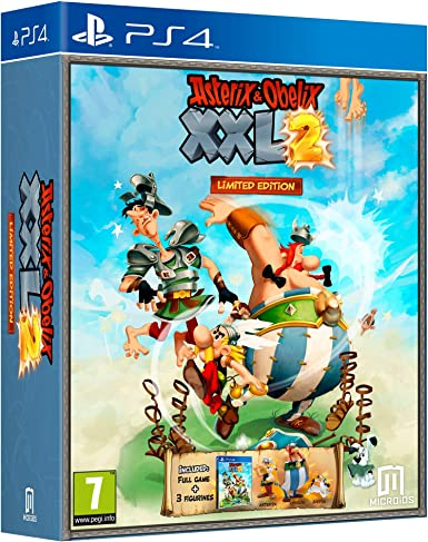 Asterix and Obelix XXL2 Limited Edition - PlayStation 4 ...