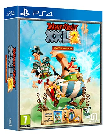 Asterix And Obelix Xxl2 Limited Edition Ps4 Amazon Co Uk Pc