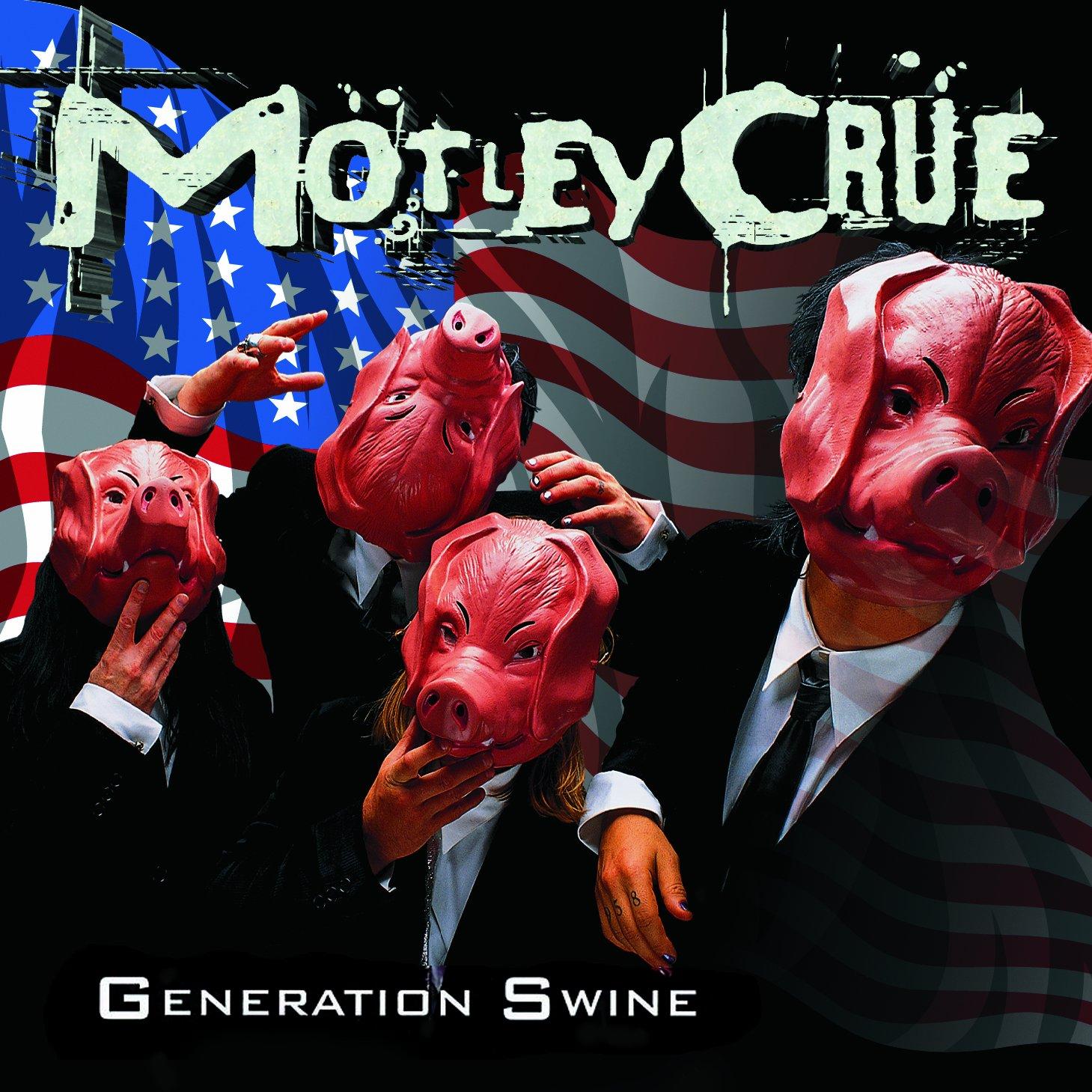 CD : Motley Crue - Generation Swine [Explicit Content] (CD)