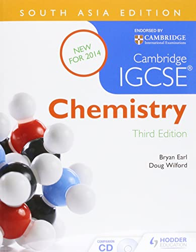 Cambridge IGCSE Chemistry 3rd Edition plus CD South Asia Edition