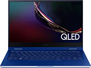 "Samsung Galaxy Book Flex 13.3"" Laptop QLED Display and Intel Core i7 Processor 8GB Memory 512GB SSD Long Battery Life and Bluetooth-Enabled S Pen (NP930QCG-K01US),Royal Blue"
