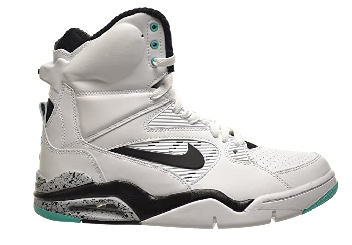 a81ee1797f5c Nike Men s Air Command Force Basketball Shoe White Black-Wolf Grey-Hyper  Jade 10.5 D(M) US  Buy Online at Low Prices in India - Amazon.in