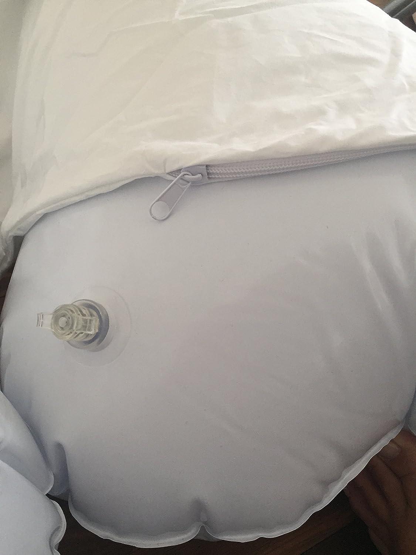 Cojín inflable XXL cervicales, 1,5 x 0,7 m, diseño Funda de ...