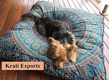 Amazon.com: Krati Exports - Funda de cojín con diseño de ...