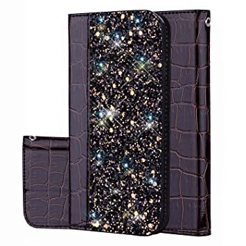 JAWSEU Brillante Bling Carcasa Compatible con Samsung Galaxy ...