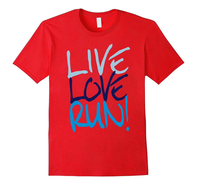 Running Shirt - Like love Run-TD
