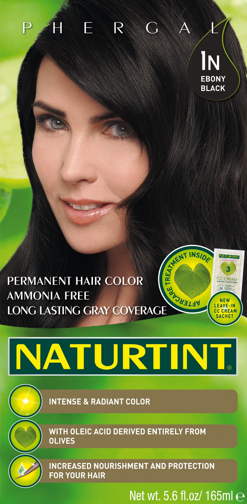 Naturtint Permanent Hair Color - 1N Ebony Black, 5.28 fl oz (6-pack) by Naturtint (Image #2)