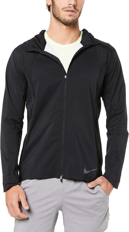 marca El hotel exprimir  Amazon.com : Nike Zonal AeroShield Men's Running Jacket 928481-010  (X-Large) : Clothing