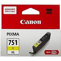 Canon Inkjet Cartridges CLI-751Y XL Yellow