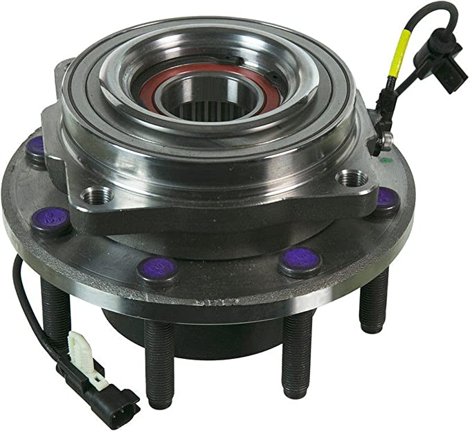 Replace 515130 MotorbyMotor Front Wheel Bearing Hub Assembly Fit 2011 2012 2013 2014 2015 2016 Ford F-250 F-350 Super Duty Hub Bearing 8 Lugs 4WD 4x4