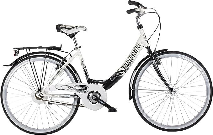 Lombardo LOM063 - Bicicleta de Paseo para Mujer, Cuadro 17 in ...