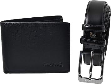 Pierre Cardin - Estuche Regalo para Hombre, Juego de cinturón acortable y Cartera de Piel auténtica 125 (Taglia 54-56): Amazon.es: Equipaje