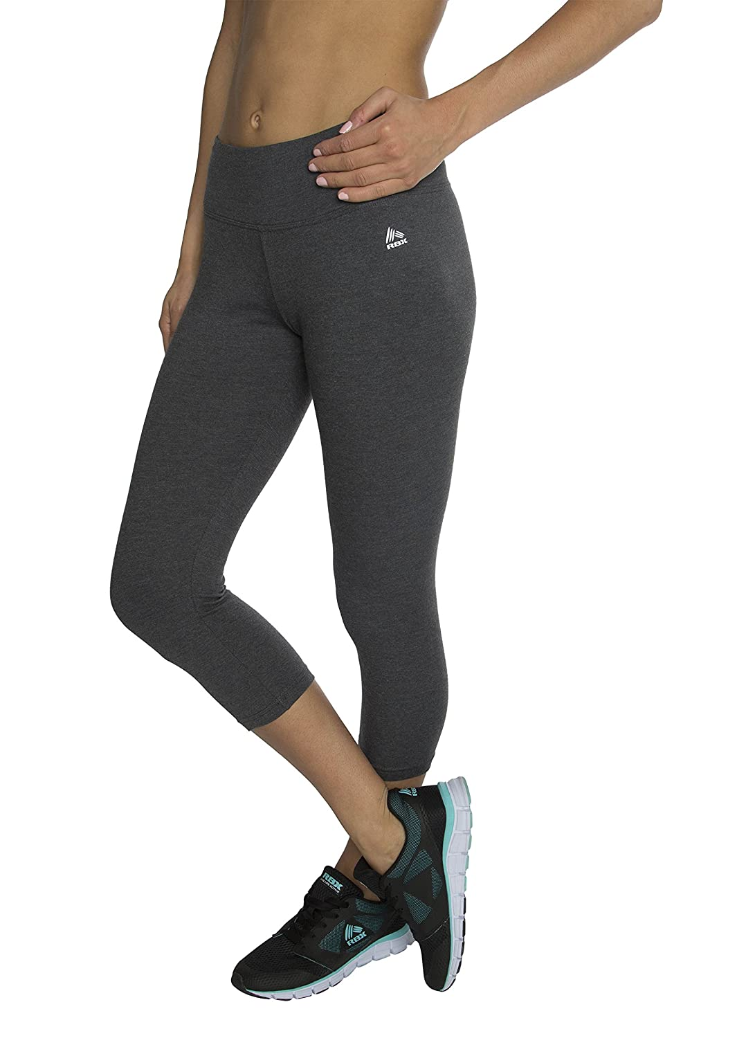 b067d0582b RBX Active Women's Cotton-Spandex Jersey Leggings: Amazon.ca: Sports &  Outdoors