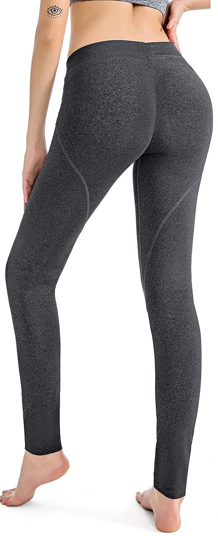 e81a3134904a89 RUNNING GIRL Butt Lift Leggings Scrunch Butt Push Up Leggings Yoga Pants  for Women Workout Tights Black: Amazon.ca: Clothing & Accessories