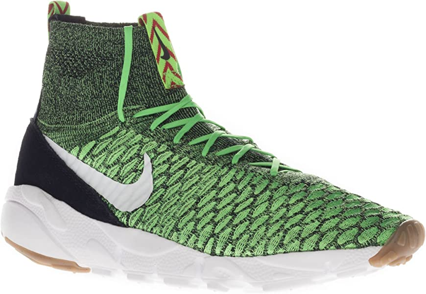 super popular 5b0ab d4211 NIKE Air Footscape Magista Flyknit 816560-300 Poison Green White Men s Shoes  (Size