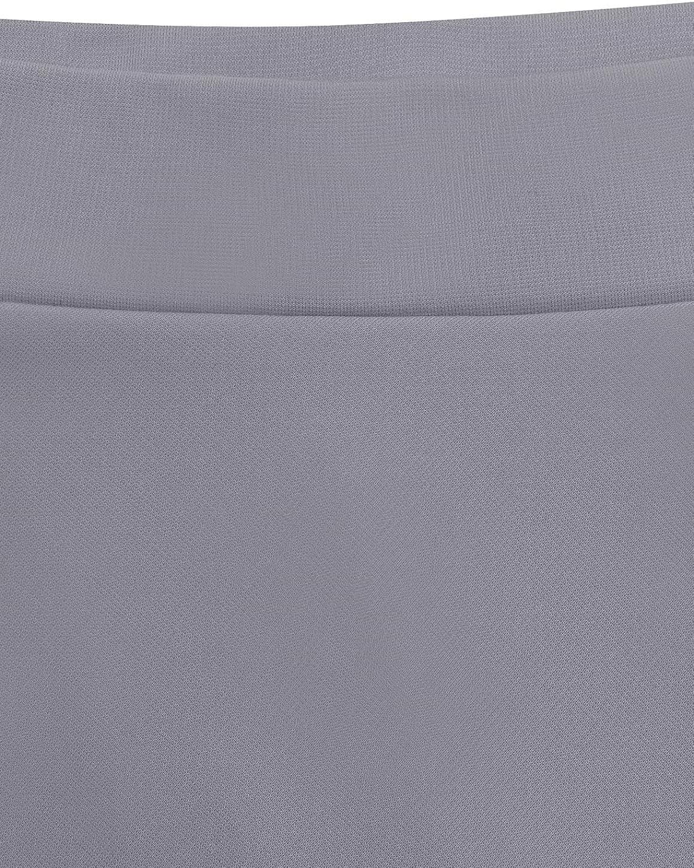 WedTrend Damen M/ädchen Basic Solid vielseitige Dehnbaren Mini Glocken Rock Informell Retro