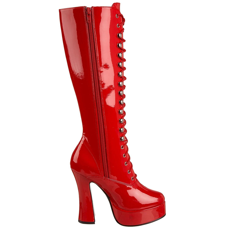 Pleaser , Damen Stiefel , Rot - rot - Größe: 5 US