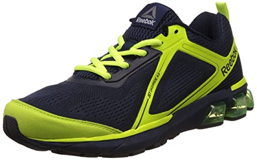 55a1f7c57675 Reebok Men s Jet Dashride 4.0 Navy and Yellow Running Shoes - 6 UK India (