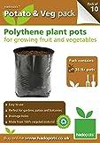 Hadopots Polythene Potato and Veg Planters (Pack of 10)