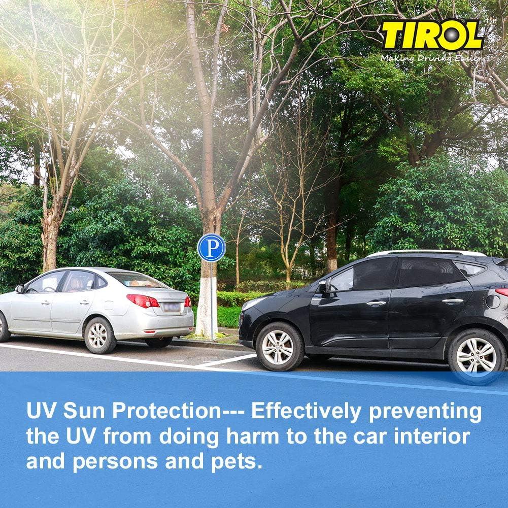 Smartspec Seitenfenster Sonnenschutz Universell Alle 4 Stück Set Autovorhänge Die Ganze Sonne Uv Schutz Netz Abdeckung Sichtschutz Auto