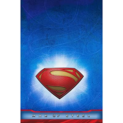 Hallmark Superman Man of Steel Table Cover: Toys & Games