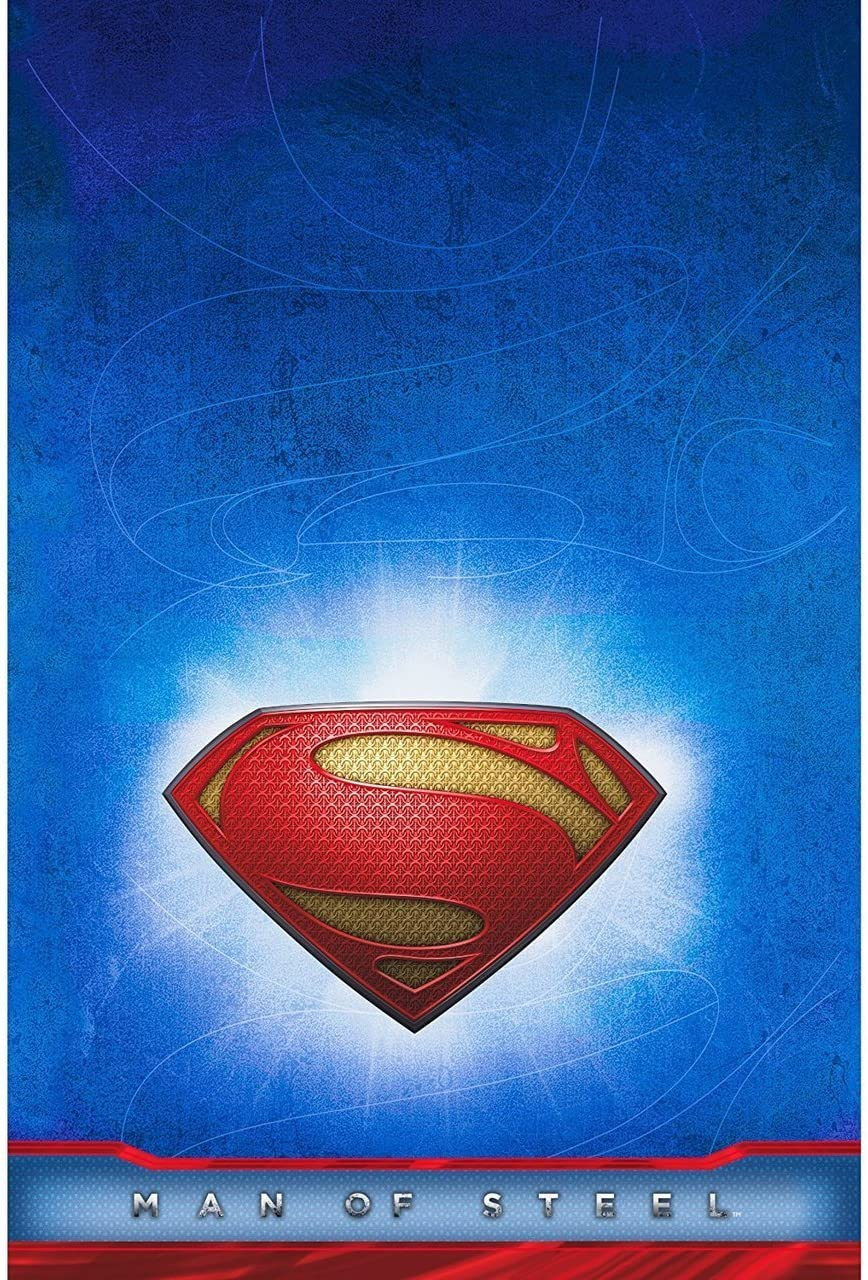 Amazon.com: Superman Man of Steel Funda para mesa: Toys & Games