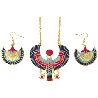 amscan Gods & Goddesses Egyptian Jewelry Set, Multicolor: Toys & Games