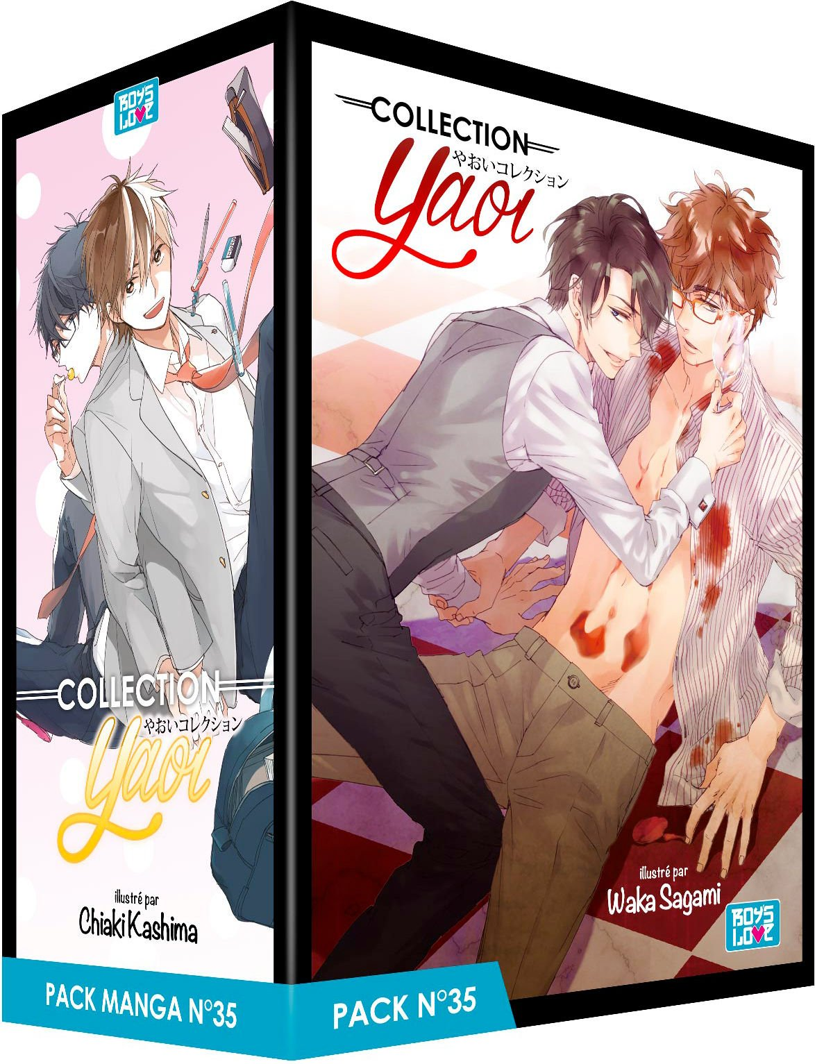 Pack Boys Love n° 35 : Avec 5 mangas Boys Love Collection ...