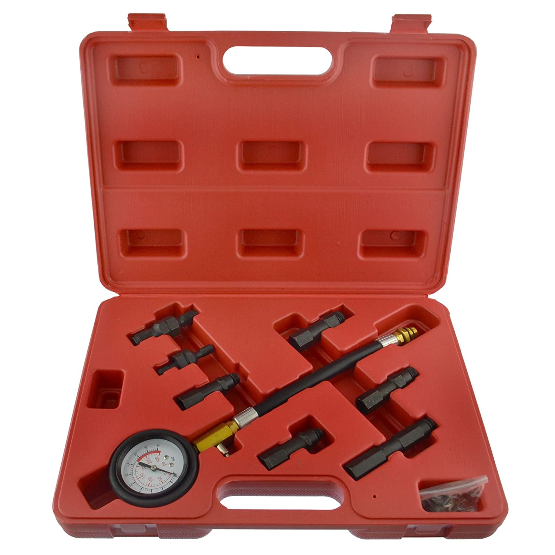 Petrol Engine Compresson Tetser Test Diagnostics Kit For Direct Indirect Engines AB Tools