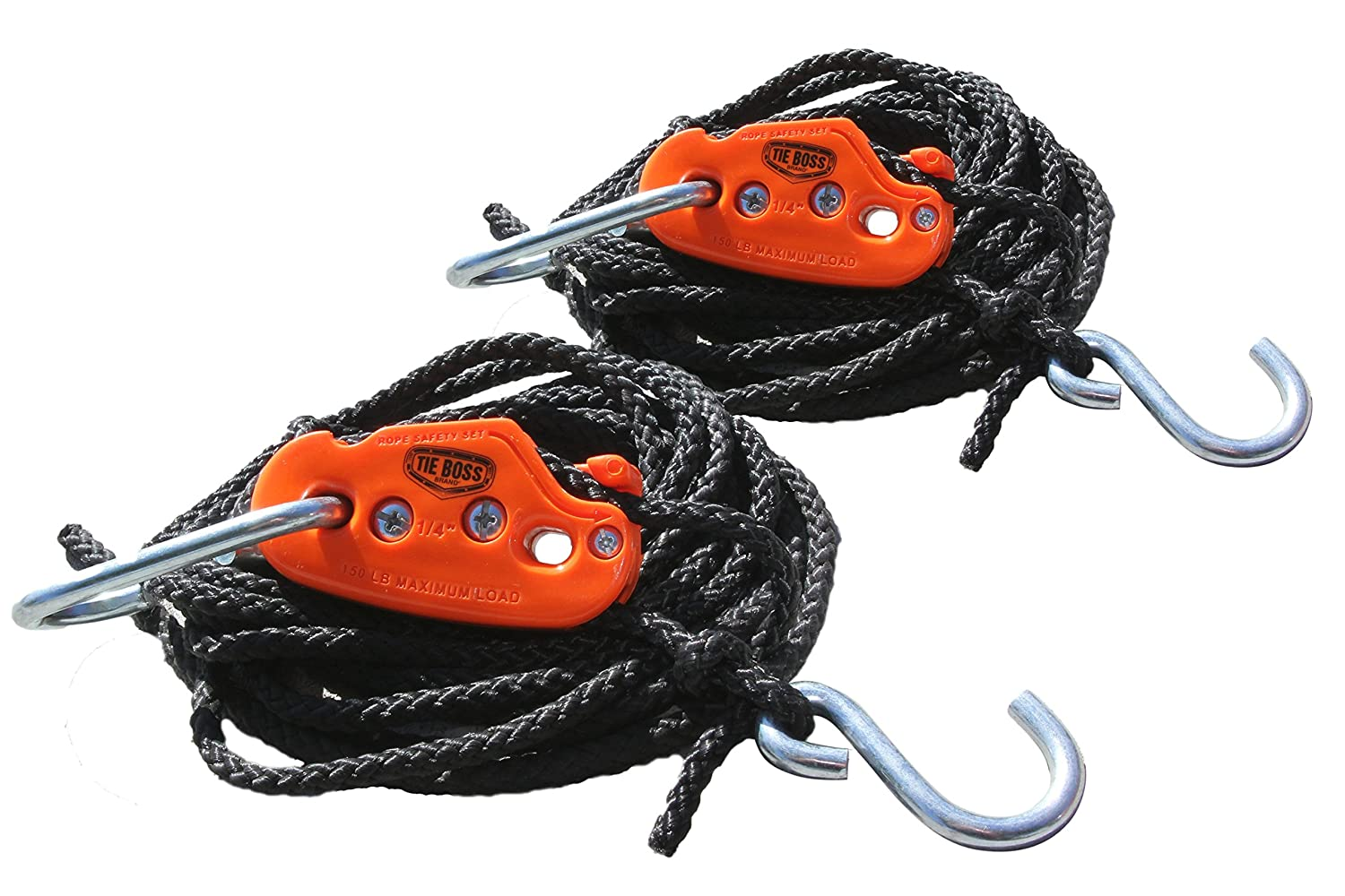 1//4-Inch Hydrofarm Inc TB140208 Tie Boss Pulley with 12-Feet Rope