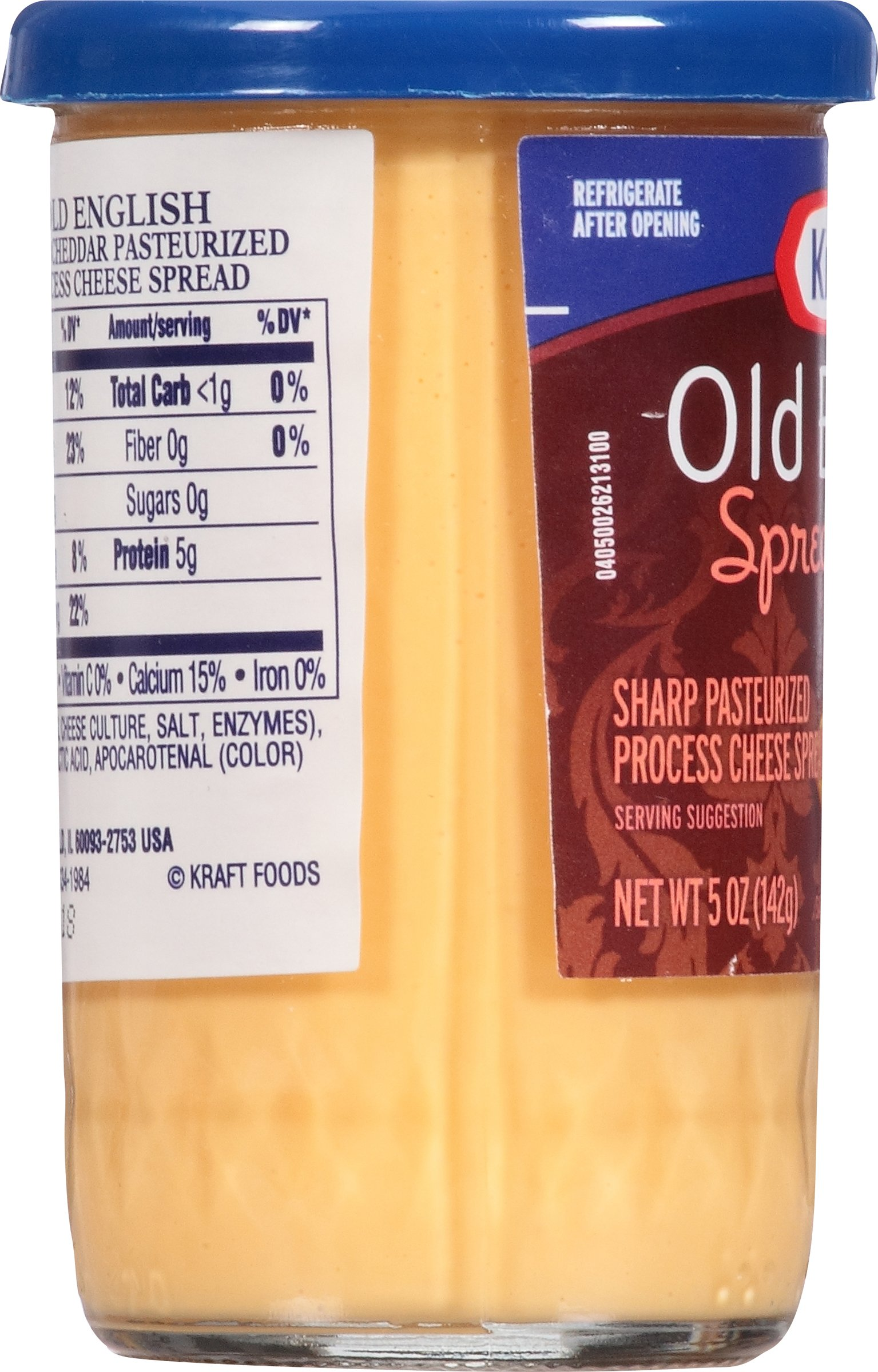 Kraft Old English Cheese Spread, 5-Ounce (Pack of 6) by Kraft (Image #9)