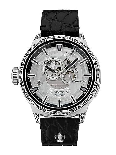 hæmmer Big Honor Esqueletos de Hombre automático Reloj de Acero Inoxidable | Exklusiv Caballero Reloj de