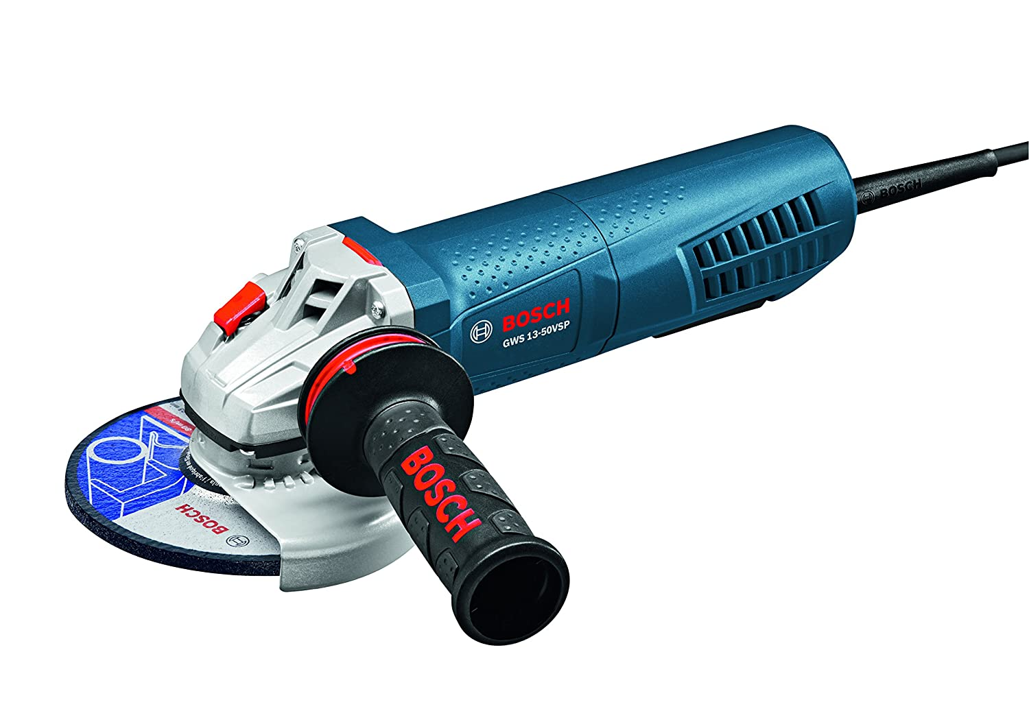 Bosch GWS13 50VSP High Performance Angle Grinder Variable Speed with Paddle Switch 5