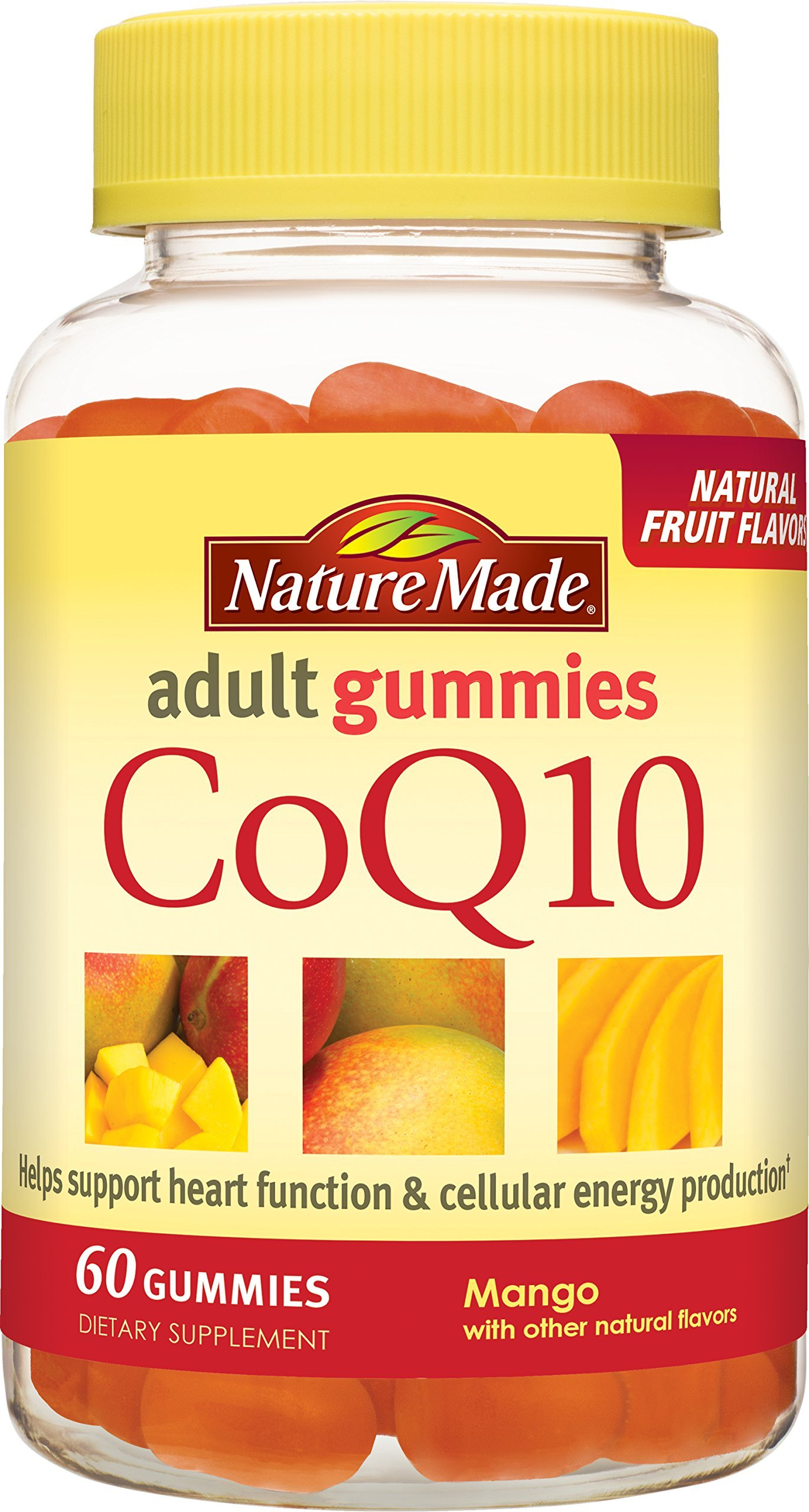 Nature Made CoQ10 (Coenzyme Q 10) Adult Gummies 60 Ct