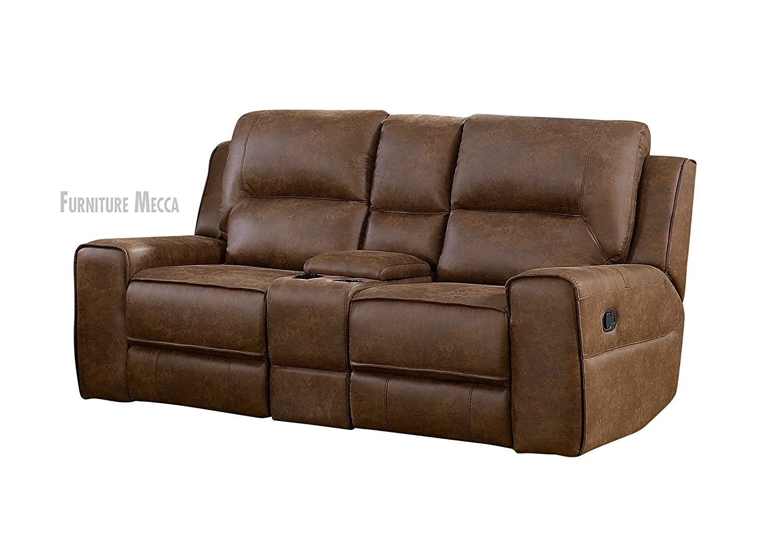 Amazon.com: Ross café faux-leather estilo elegante Deep ...