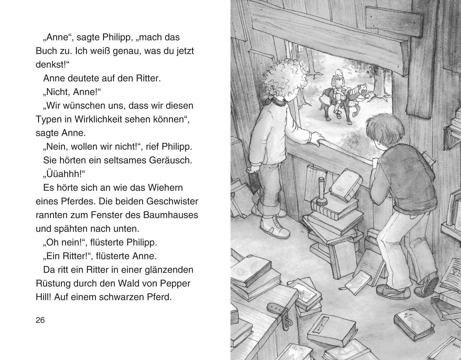 Das magische Baumhaus 2, Der geheimnisvolle Ritter: Amazon.de: Mary ...