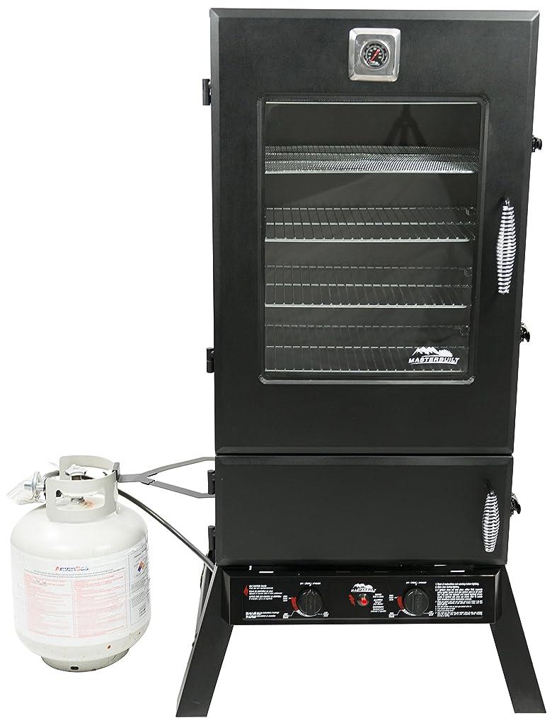Masterbuilt 20050614 Propane Smoker, 44-Inch, Black