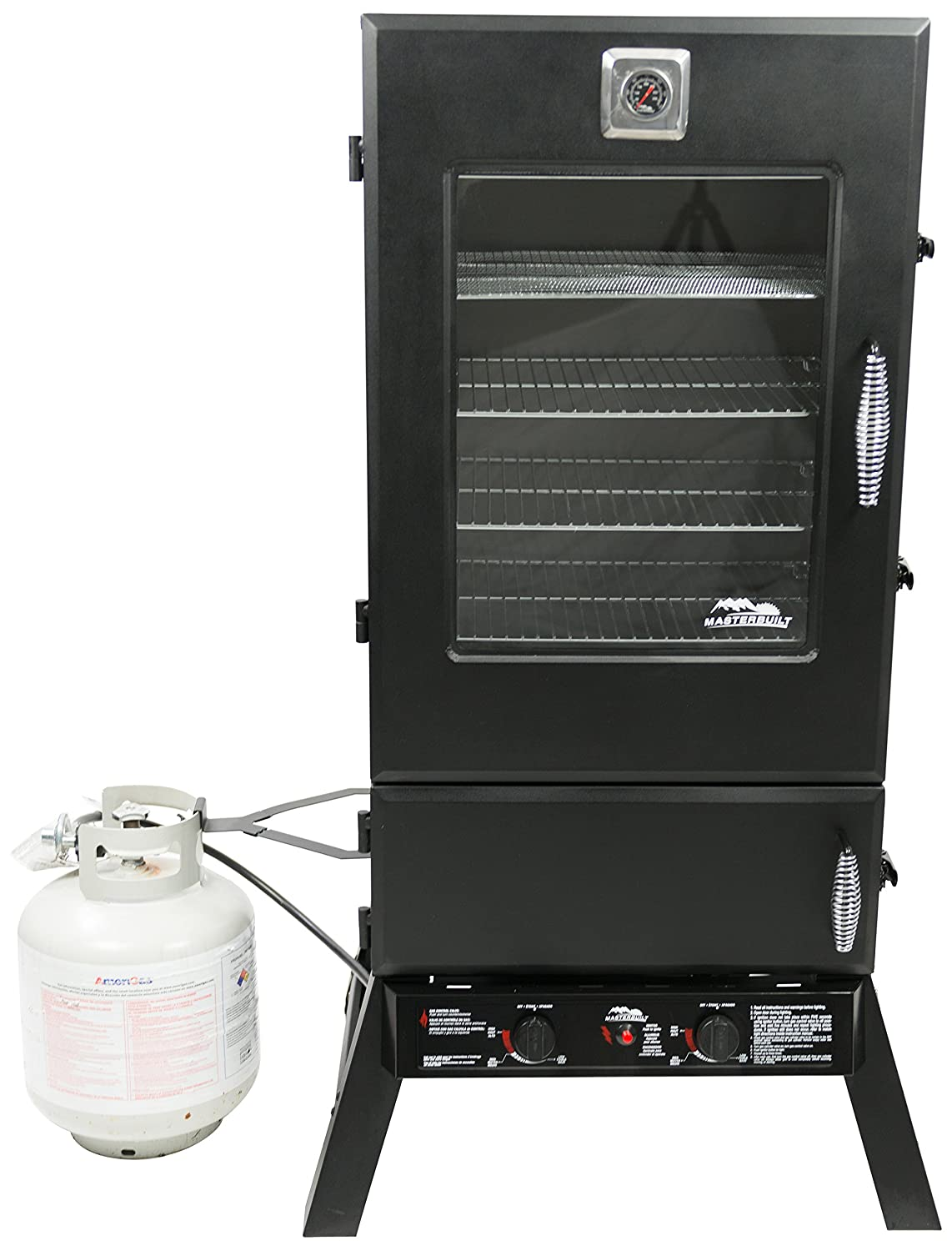 Beau Amazon.com : Masterbuilt 20050614 Propane Smoker, 44 Inch, Black : Garden U0026  Outdoor
