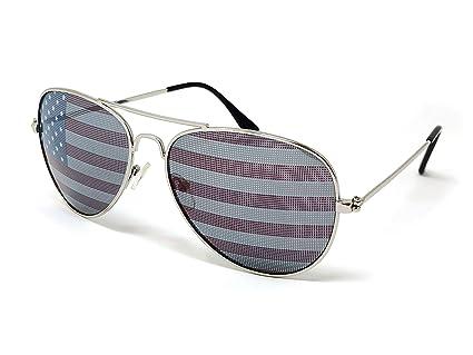 Amazon.com: Hojas sueltas anteojos de bandera estadounidense ...