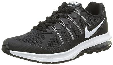 cheaper fd24a 26dfa Nike WMNS Air Max Dynasty, Chaussures de Running Femme, Noir Blanc Gris