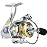 RUNCL Spinning Fishing Reel Merced, Spinning Reel - 10+1 HPCR Ball Bearings, Multi-Disc Drag System, CNC Line Management…