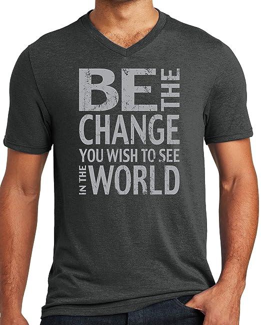 Amazon.com: Camiseta de yoga para hombre con cuello en V y ...