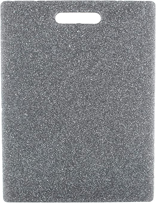 Amazon Com Dexas Heavy Cutting Board 11 By 14 5 Inches Grey Granite Color Kitchen Dining