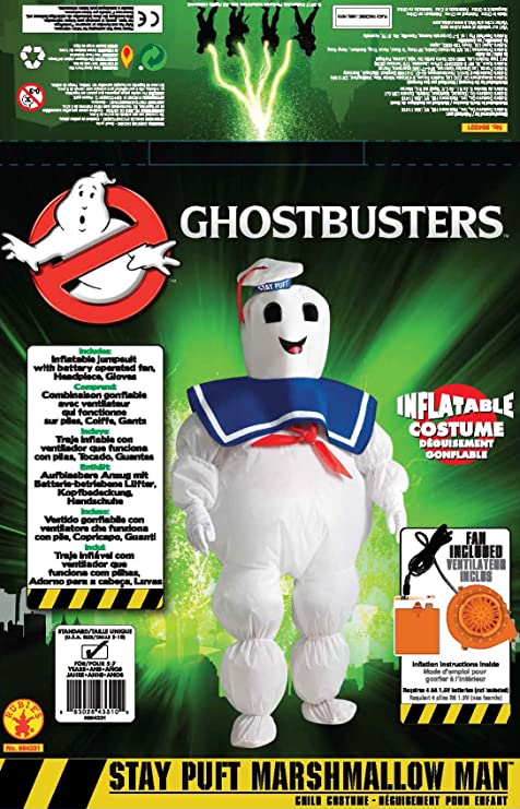 Amazon.com: Hinchable Ghostbusters Stay Marshmallow de ...