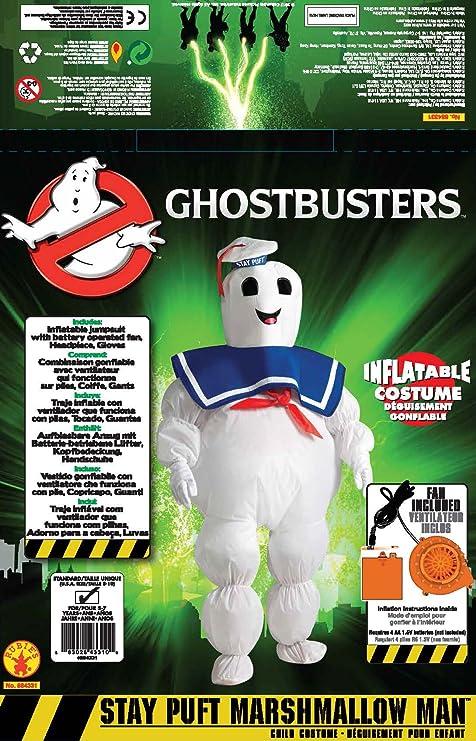 Amazon.com: Hinchable Ghostbusters Stay Marshmallow de ...